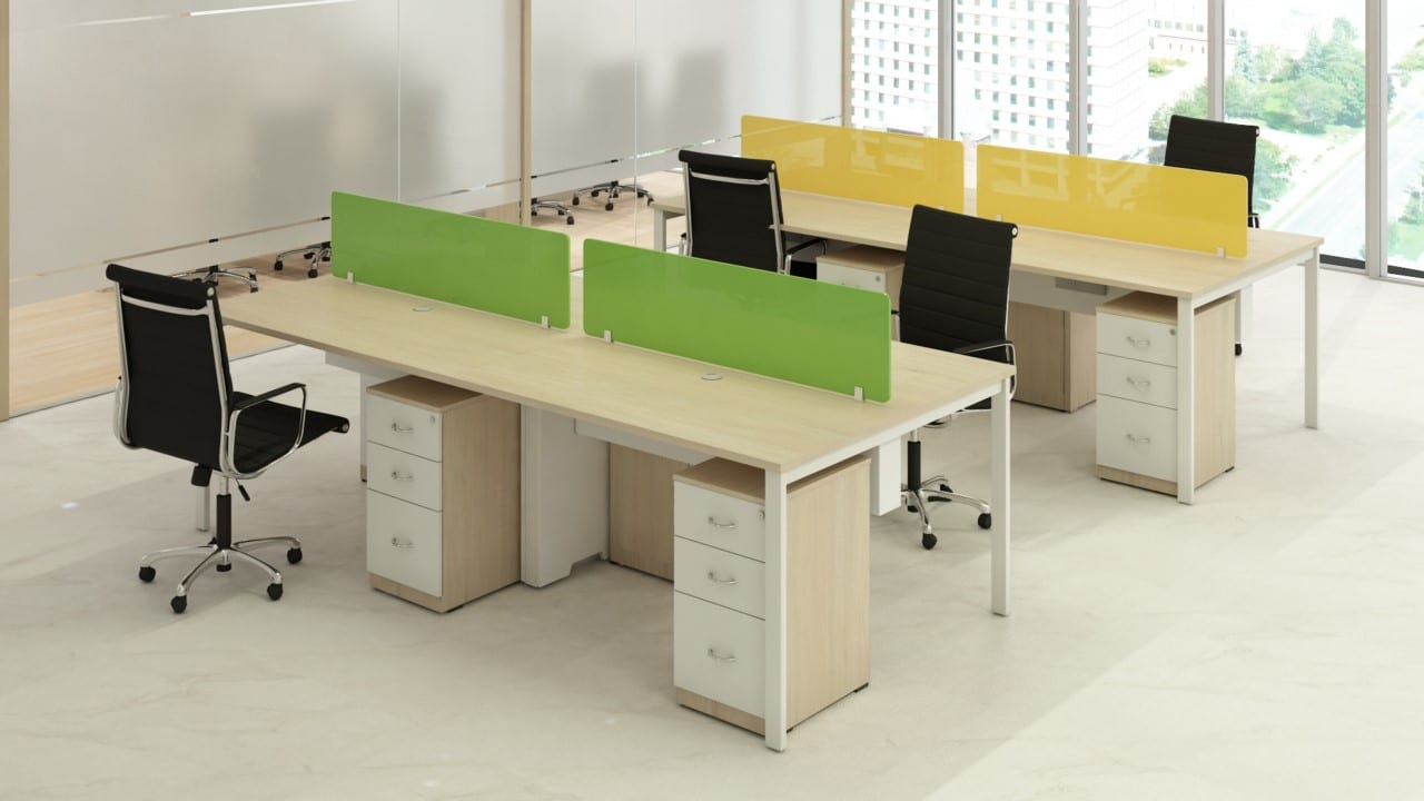 Glass Desking SERIES